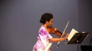 Quincy Porter Suite for Viola Alone