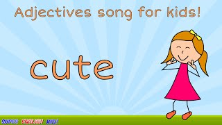 ♪ ♫ Fun Adjectives (opposites) Song for Kids (With actions!) Preschool - Grade 1 ♬ ♩