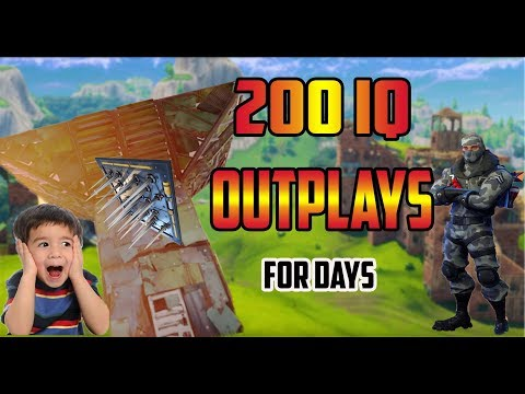 200 Iq Outplays (Fortnite Battle Royale)