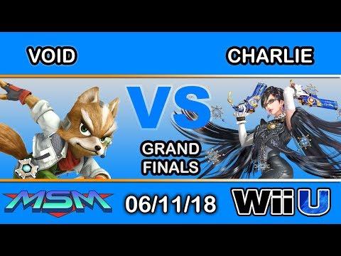 MSM 150 - CLG | Void (Fox,Zss,Shiek) Vs Charlie (Shiek,Bayonetta) Grand Finals - Smash 4