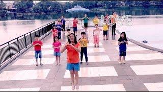 LOVE LOVE LOVE LOVE LOVE - Justin Faith Chen & TruLove Chen | Kids Songs 2018 | Sing & Dance