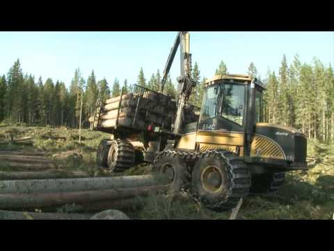 Eco Log 594C Forwarders Machine Forestry Logging