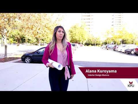 Alana Kuroyama - KPU Interior Design Alumna