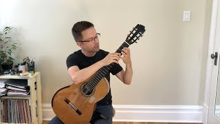 vol. 2 lesson: d major and easy rujero by sanz for classical guitar