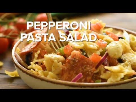 Pepperoni Cold Pasta Salad