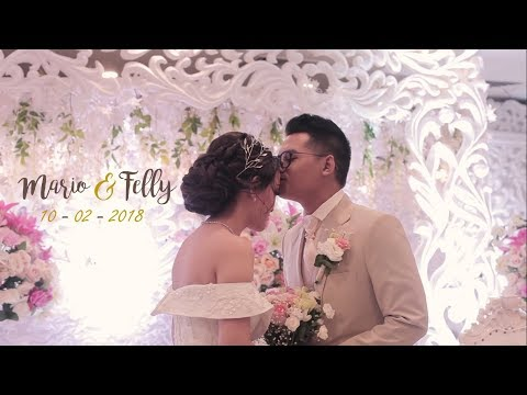 Download lagu terbaru My Timeless Romance | The Wedding - Mario & Felly Mp3 online