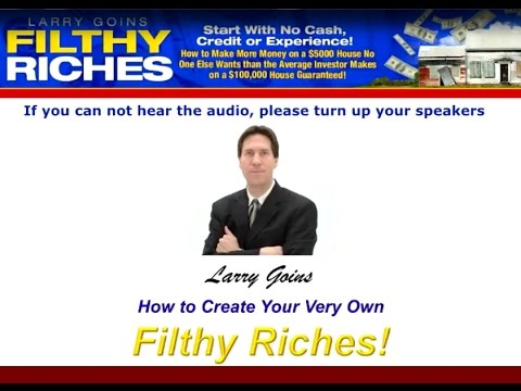 Larry Goins: Filthy Riches Training