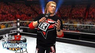 THE CUTTING EDGE!! | WWE 12 - Road To WrestleMania (Ep 10)