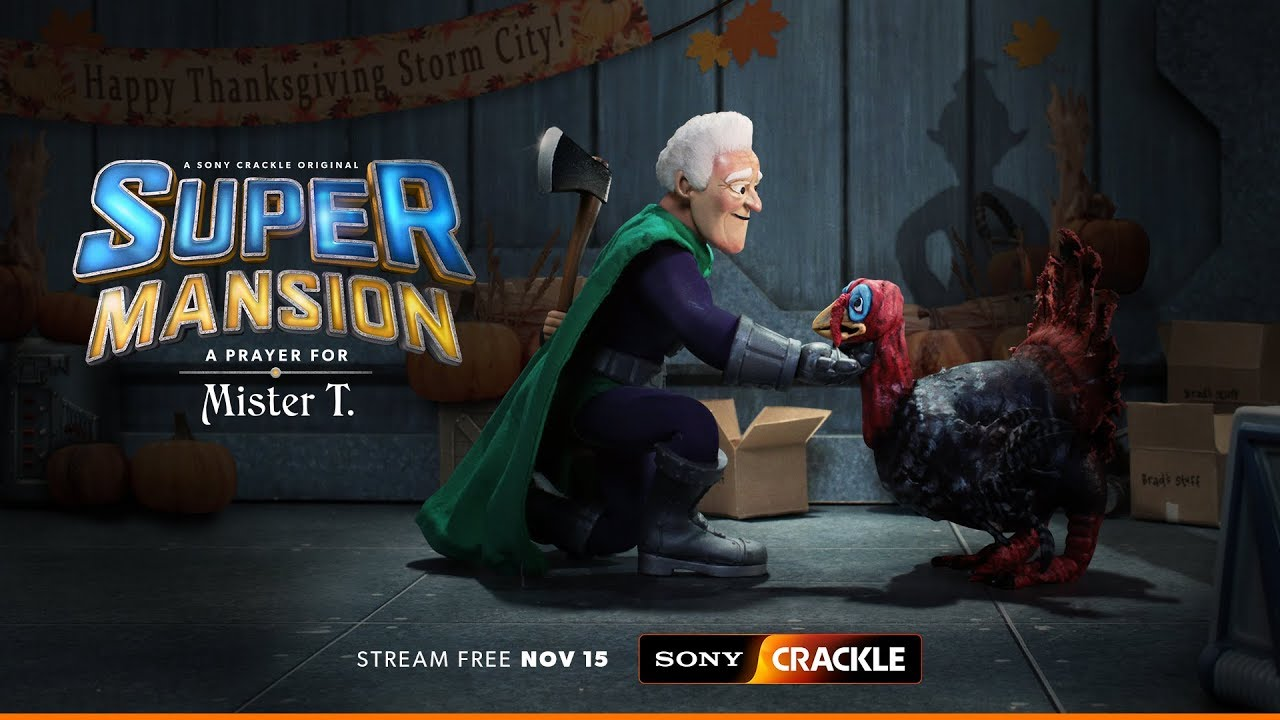 SuperMansion Thanksgiving Special: A Prayer For Mister T | Sony Crackle