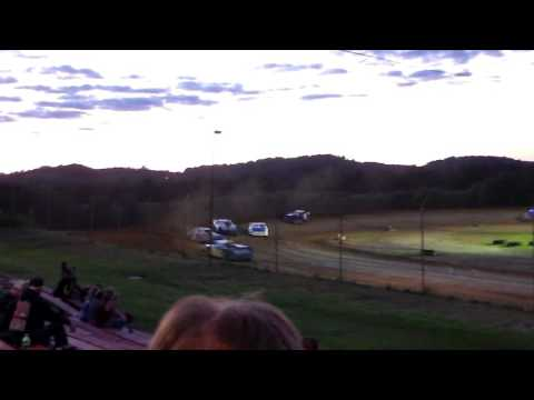 Marion Center Speedway 9/3/16 Steel Block Limited Late Model Heat  1 of 3