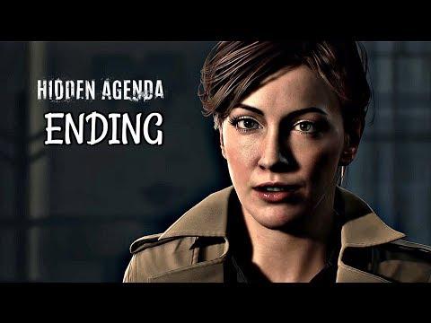 Hidden Agenda Walkthrough Part 4 - Best Ending   PS4 Pro Gameplay