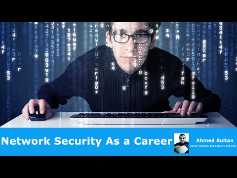 Network Security As a Career By Eng-Ahmed Sultan | Arabic
