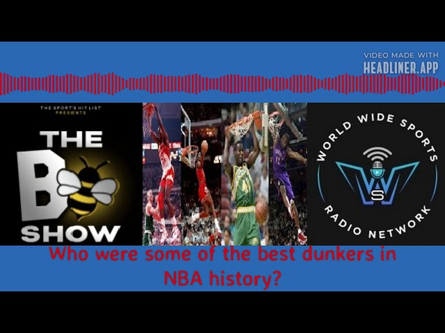 Best dunkers in NBA history?