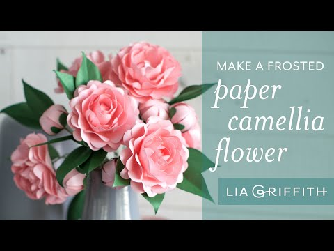 How to Make A Simple Paper Camellia Flower