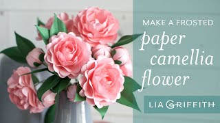 Make A Simple Paper Camellia