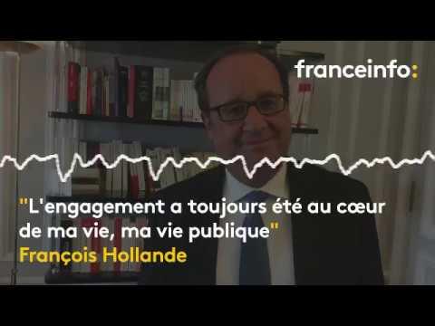 """François Hollande : """"Je ne vais sûrement pas utiliser une fondation à des fins politiques"""""""