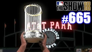 502-FOOT HOME RUN CLINCHES WORLD SERIES! | MLB The Show 18 | Road to the Show #665