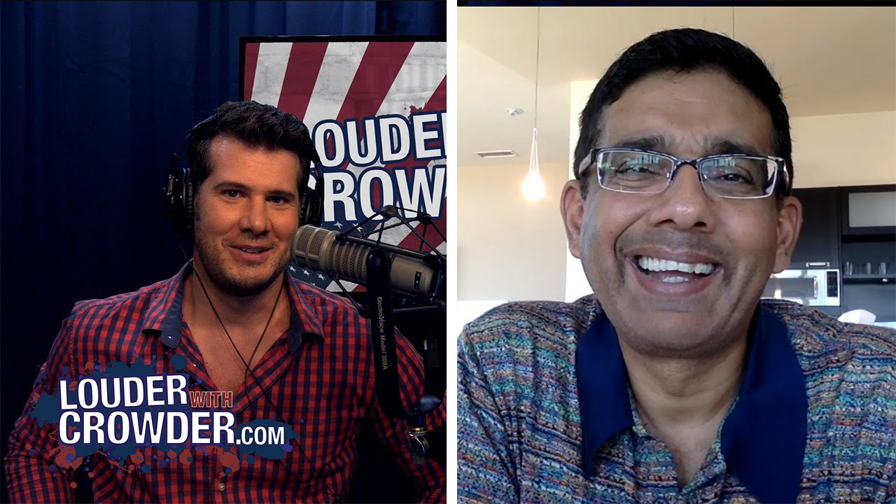 Dinesh D'Souza Dishes On Cenk Uygur And Debate Hacks (Uncut Web Extended) | Louder With Crowder