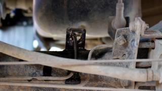 Hyundai Porter 1 2006 года  Хундай Портер Тагаз Замена всех тормозных шлангов и прокачка тормозов