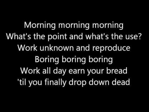 Monty Python - The Silly Walks Song lyrics