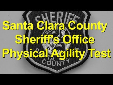 Santa Clara County Sheriff's Office Physical Agility Test