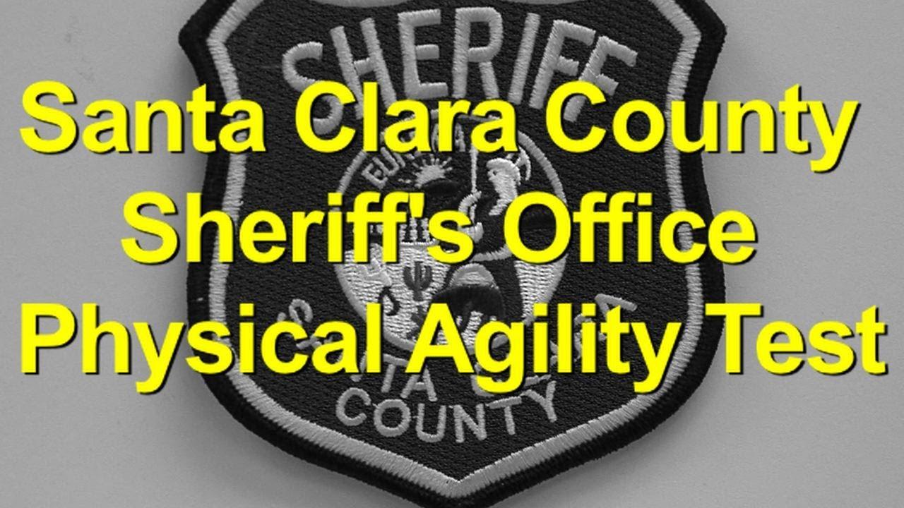 0d96fadea15 Santa Clara County Sheriff s Office Physical Agility Test - YouTube