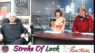 Heartfelt Interview / Parallel Brain Trauma - ReneMarie Stroke Of Luck - August 13, 2013 -