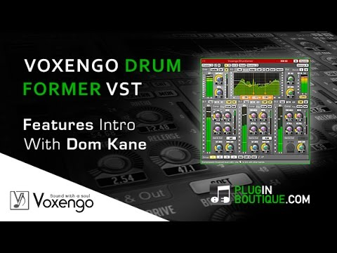 Voxengo Drumformer Dynamic Drum Processing - Overview