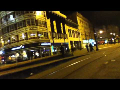 A night time walk through Manchester.