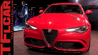 Get Your Awesome 2016 Alfa Romeo Giulia Exhaust Note Right Here!