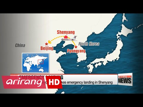 N. Korean Air Koryo plane makes emergency landing in Chinese city of Shenyang after fire