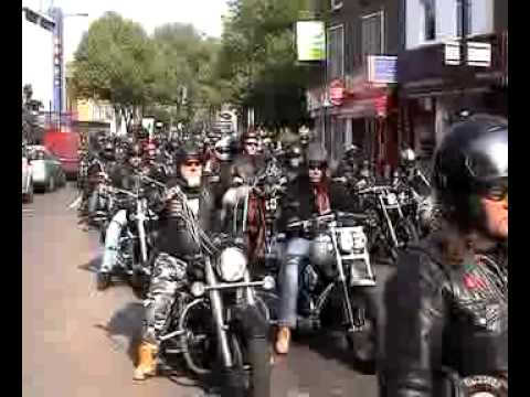 Hells Angels London 1st Annual Memorial Run 2011