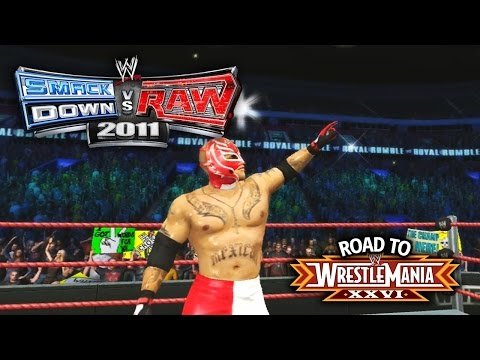 WWE Smackdown vs Raw 2011 - ROYAL RUMBLE MATCH!! (Road To WrestleMania Ep 4)