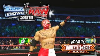 "WWE Smackdown vs Raw 2011 - ""ROYAL RUMBLE MATCH!!"" (Road To WrestleMania Ep 4)"