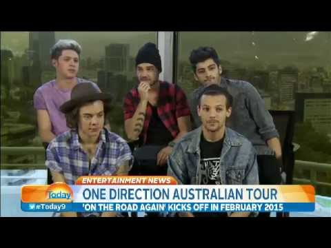 One Direction Today In Australia Interview
