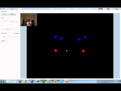 Finger tracking with Kinect SDK
