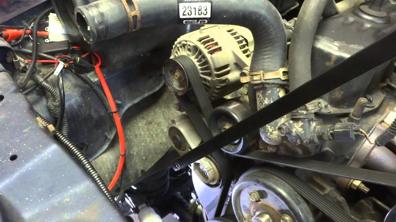 91 Jeep Cherokee Alternator Wiring Diagram 1993 Mazda B2200 Diy Replacement Youtube
