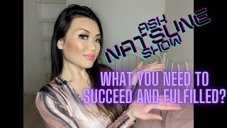 AskNatsuneShow 71 - What do you need to succeed? Is it talent? smarts? Desire? Discipline?