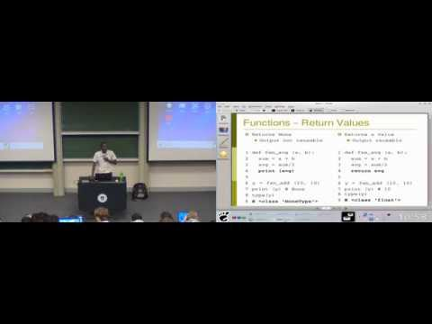 Python for Engineers: Testing 1/2 (Collage)