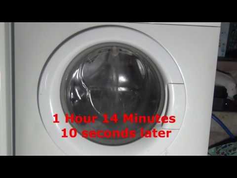 Zanussi Jet System ZWF14380 : Cotton 95'c Intensive : main wash (Pt 1/3)