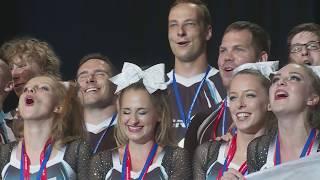 Mistrovství Evropy ve sportovním cheerleadingu 2017 - Reportáž ČT Sport