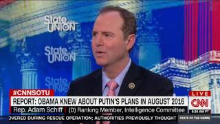 Rep. Schiff: Mistake For Obama Admin Not To Do More When Learned Of Russia Actions