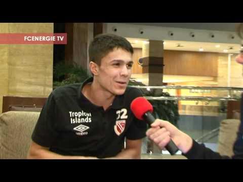 Trainingslager 2012: Leonardo Bittencourt will's wissen