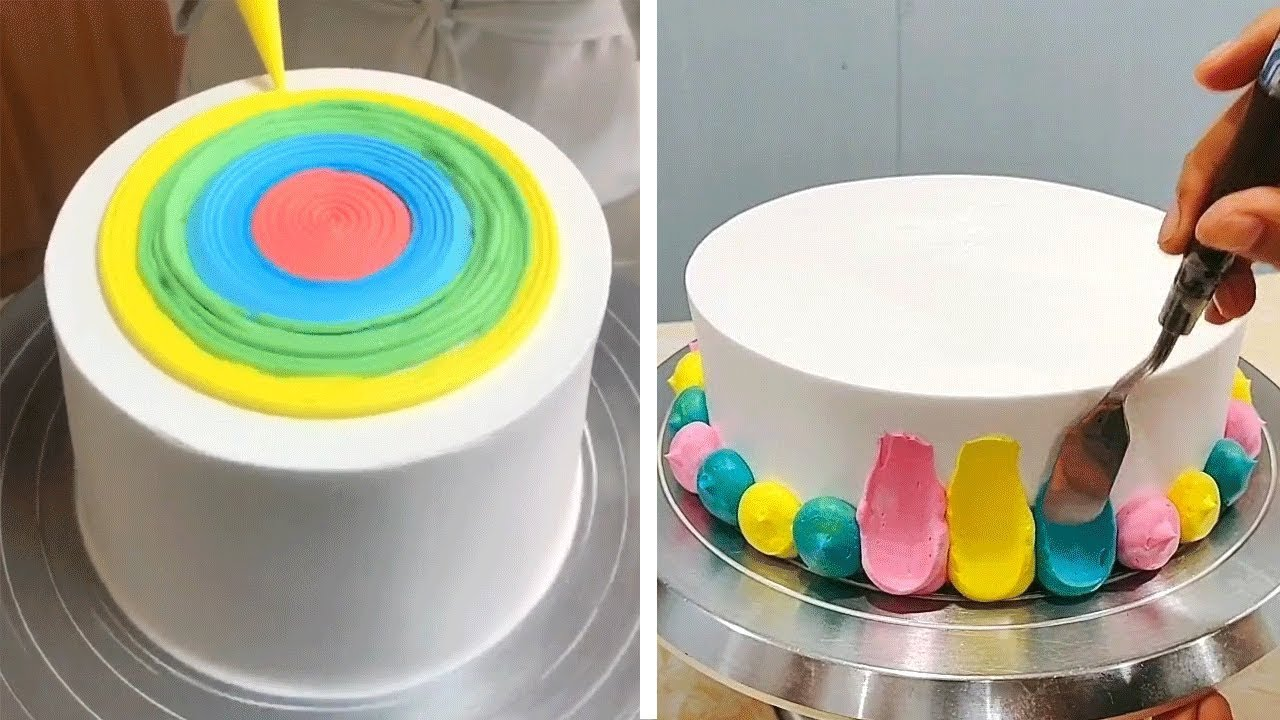 How To Make Perfect Cake Decorating Ideas | So Yummy Dessert And Cake Tutorial
