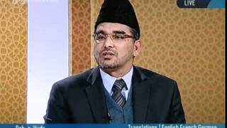 Why does the Holy Qur'an and all prophets use metaphorical language-persented by khalid Qadiani.flv