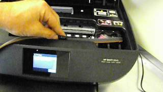 Hp Envy 5640 Ciss continuous ink system install - HP 62