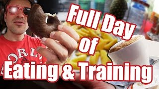 Full Day of Eating & Training - Carbbackloading VLOG