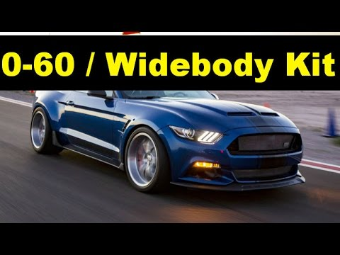 2017 Ford Mustang Shelby Super Snake Widebody Kit Concept Gt500