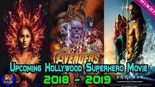 Top 7 Upcoming Hollywood Superhero Movie in Hindi | Aquaman | Dark Phoneix | The Topic