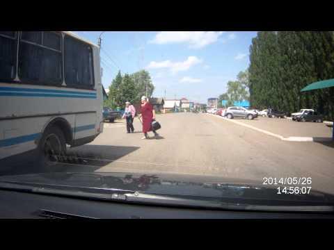 Маршрутный автобус на Худайбердина не пропускает бабулек. г. Янаул